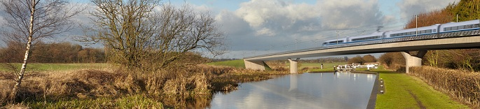 HS2 visualisation - canal